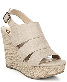 Valentina Platform Wedge Sandals