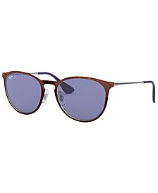 Sunglasses, RB3539 54 ERIKA METAL