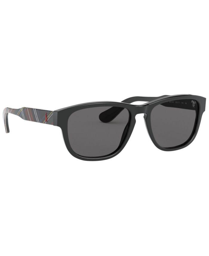 Polo Ralph Lauren Sunglasses, PH4158 55 & Reviews - Sunglasses by Sunglass Hut - Men - Macy's