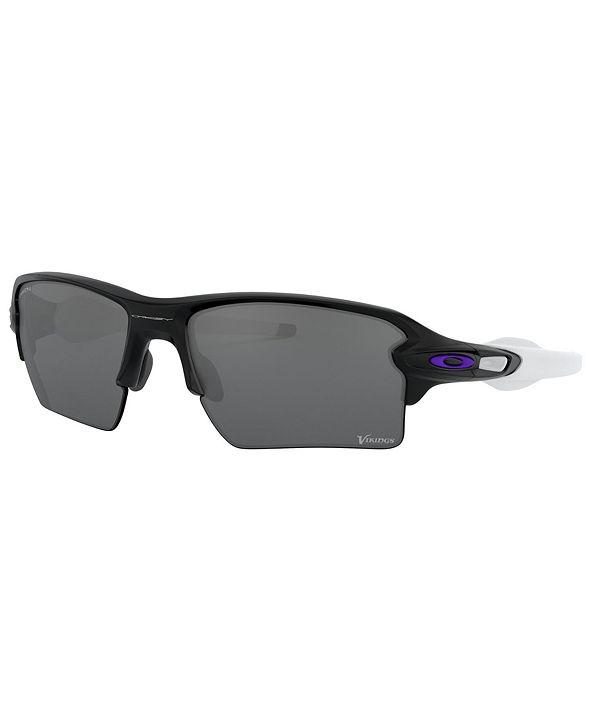 Oakley NFL Collection Sunglasses, Minnesota Vikings OO9188 59 FLAK 2.0 XL
