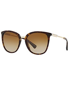 Bulgari Women's Polarized Sunglasses, BV8205KB