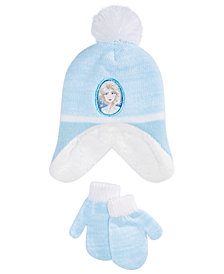 Frozen Toddler Girls 2-Pc. Elsa Hat & Mittens Set