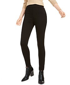 JEN7 Skinny Pull-On Ponte Pants