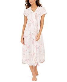 Women's Cottonessa Knit Long Nightgown