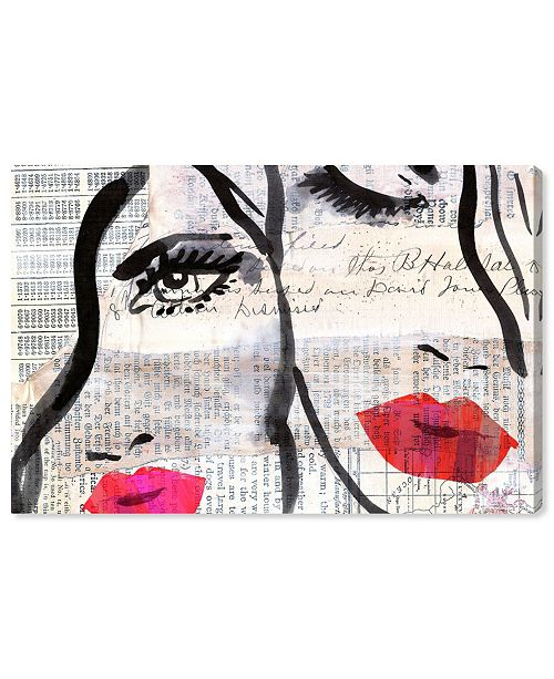 """Oliver Gal Sister Canvas Art, 15"""" x 10"""""""