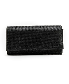 Like Dreams Rhinestone Fold Over Clutch