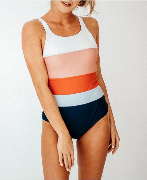 Nani Swimwear Women's Colorblock One Piece Swimsuit