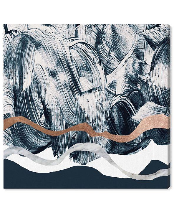 "Oliver Gal Bath in Copper Mountain Canvas Art, 43"" x 43"""