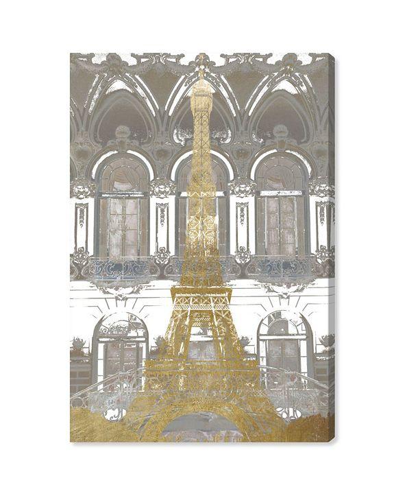 "Oliver Gal Parisian Eiffel Canvas Art, 10"" x 15"""