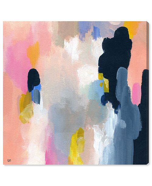 """Oliver Gal Happy Thoughts Canvas Art, 36"""" x 36"""""""