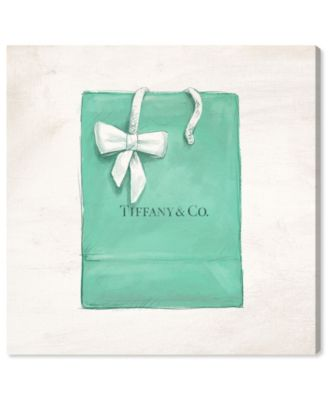 Jewelry Shopping Bag Canvas Art, 12