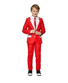 Big Boys Santa Outfit Christmas Suit