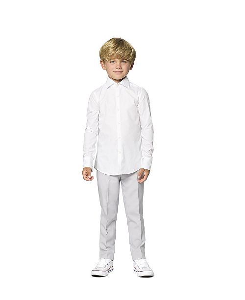 OppoSuits Toddler Boys Knight Solid Shirt