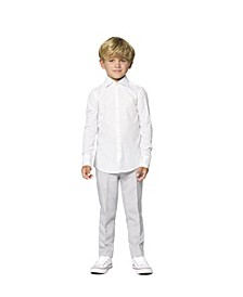 Little Boys Knight Solid Shirt