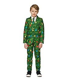 Big Boys Christmas Tree Light Up Suit