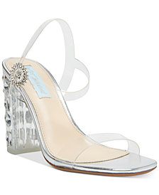 Blue by Betsey Johnson Erika Evening Shoes