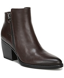 Freya Leather Booties