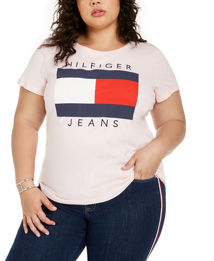 Tommy Hilfiger - Plus Size Cotton Logo T-Shirt