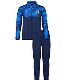 Under Armour Toddler Boys 2-Pc. Camo-Print Track Jacket & Pants Set