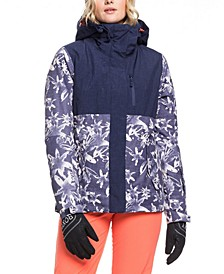 Juniors' Jetty Colorblocked Hooded Active Jacket