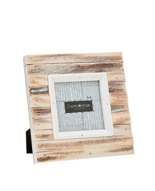 """Philip Whitney Slatted Light Frame - 4"""" x 4"""""""