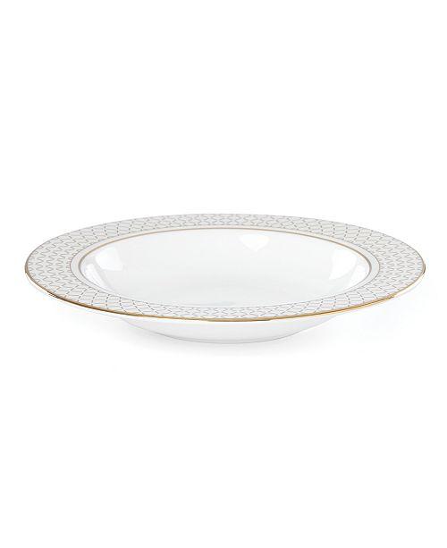 Lenox Venetian Lace Gold Pasta Bowl/Rim Soup