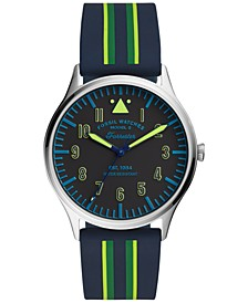 Men's Forrester Multicolor Silicone Strap Watch 42mm