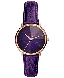Women's Galaxy Leather Strap Watch Collection, 33mm