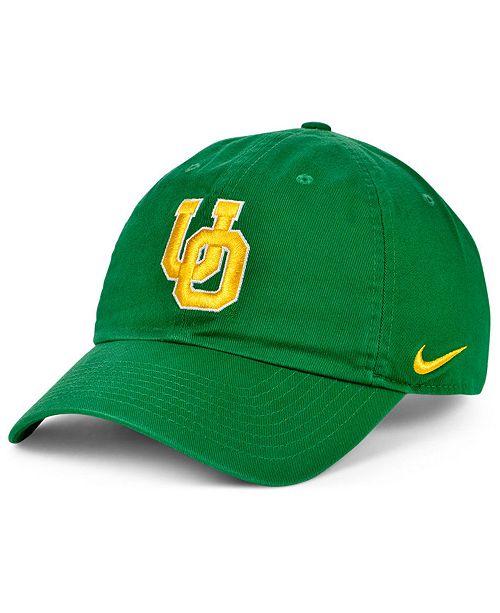 Nike Oregon Ducks Core Easy Strapback Cap