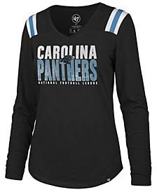 Women's Carolina Panthers Flash Long Sleeve T-Shirt