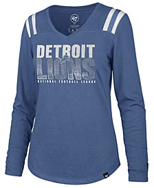 Women's Detroit Lions Flash Long Sleeve T-Shirt