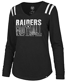Women's Oakland Raiders Flash Long Sleeve T-Shirt