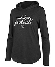 Women's Oakland Raiders Script PO Hoodie