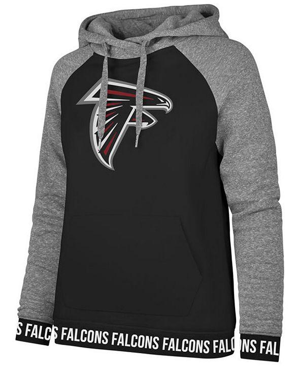 '47 Brand Women's Atlanta Falcons Revolve Hooded Sweatshirt