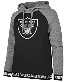 Women's Oakland Raiders Revolve Hooded Sweatshirt