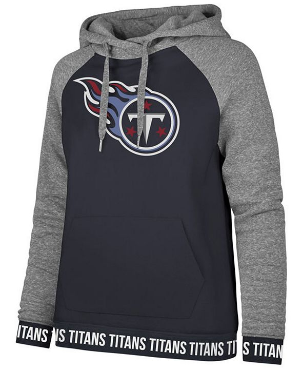 '47 Brand Women's Tennessee Titans Revolve Hooded Sweatshirt