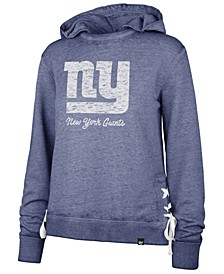 Women's New York Giants Lace Up Hoodie