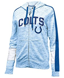 Women's Indianapolis Colts Space Dye Full-Zip Hoodie