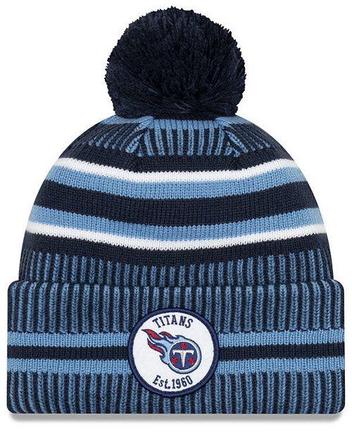 New Era Tennessee Titans Home Sport Knit Hat