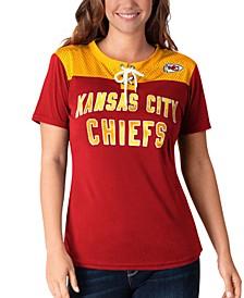 Women's Kansas City Chiefs Wildcard Jersey T-Shirt