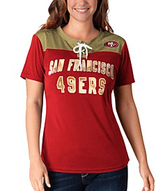 Women's San Francisco 49ers Wildcard Jersey T-Shirt