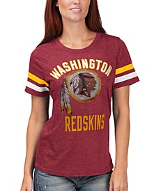 Women's Washington Redskins Extra Point T-Shirt