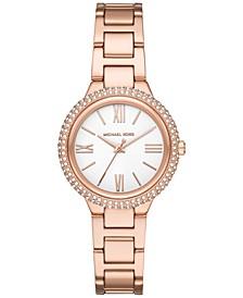 Women's Mini Taryn Rose Gold-Tone Stainless Steel Bracelet Watch 33mm