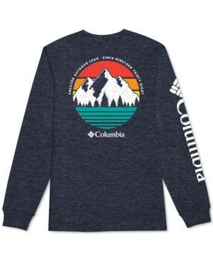 Columbia T-shirts MEN'S SETYN LOGO GRAPHIC LONG SLEEVE T-SHIRT