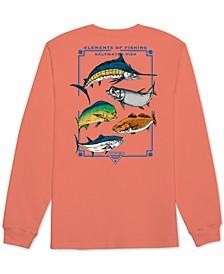 Men's Escuela Graphic Long Sleeve T-Shirt