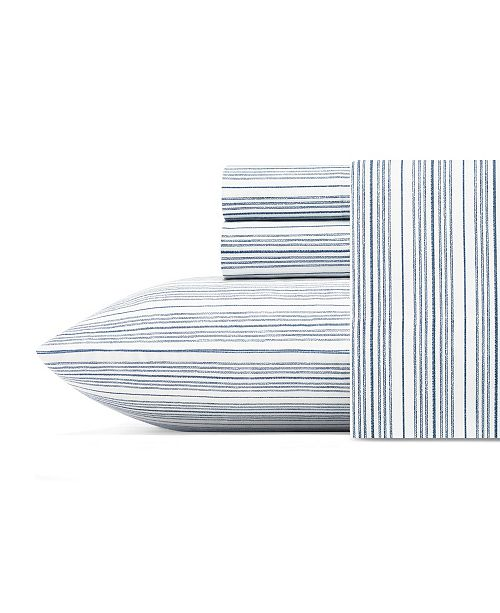 Nautica Beaux Stripe Queen Sheet Set