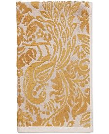 "CLOSEOUT! Peacock Cotton 16"" x 28"" Hand Towel"