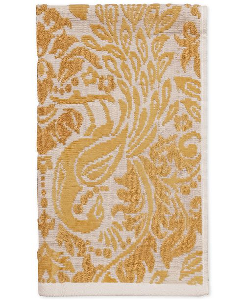 """CHF CLOSEOUT! Peacock Cotton 16"""" x 28"""" Hand Towel"""