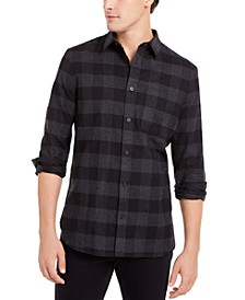Men's Classic-Fit Buffalo Plaid Shirt