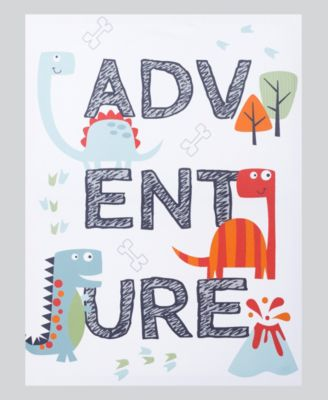 Dinosaur Adventure Canvas Wall Art